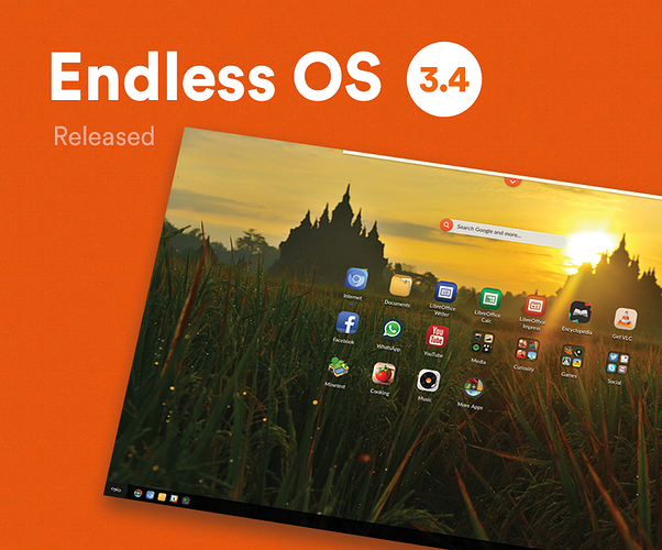 Major Release | Meet Endless OS 3 4 - releases - Endless