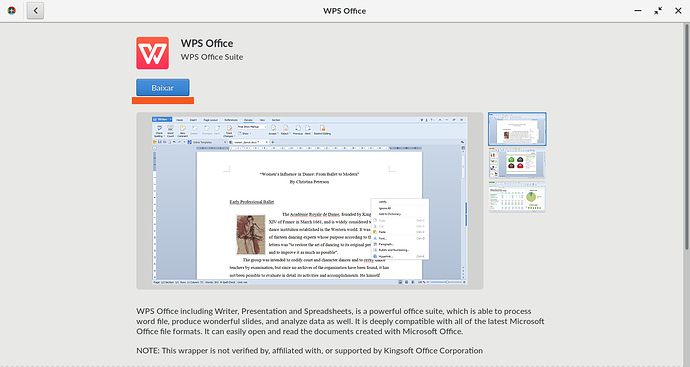 How Install WPS Office on Endless OS - tutorials - Endless Community