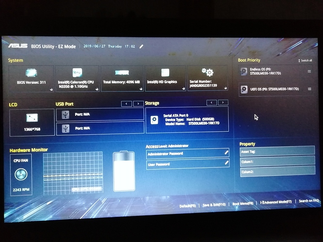 My pc doesn't start after the os update - help - Endless Community